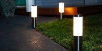 لاکچری چراغ محوطه ویلا